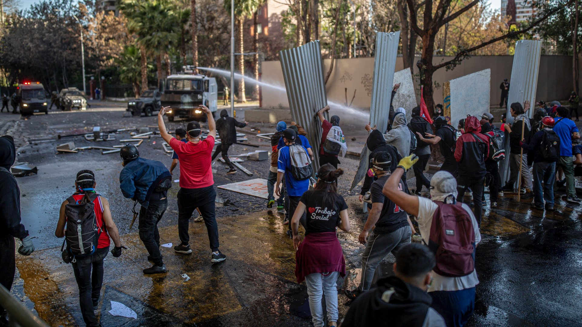 Tüntetések Chilében