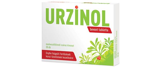 Vény nélkül kapható, medveszőlőlevélkivonat-tartalmú hagyományos növényi gyógyszer