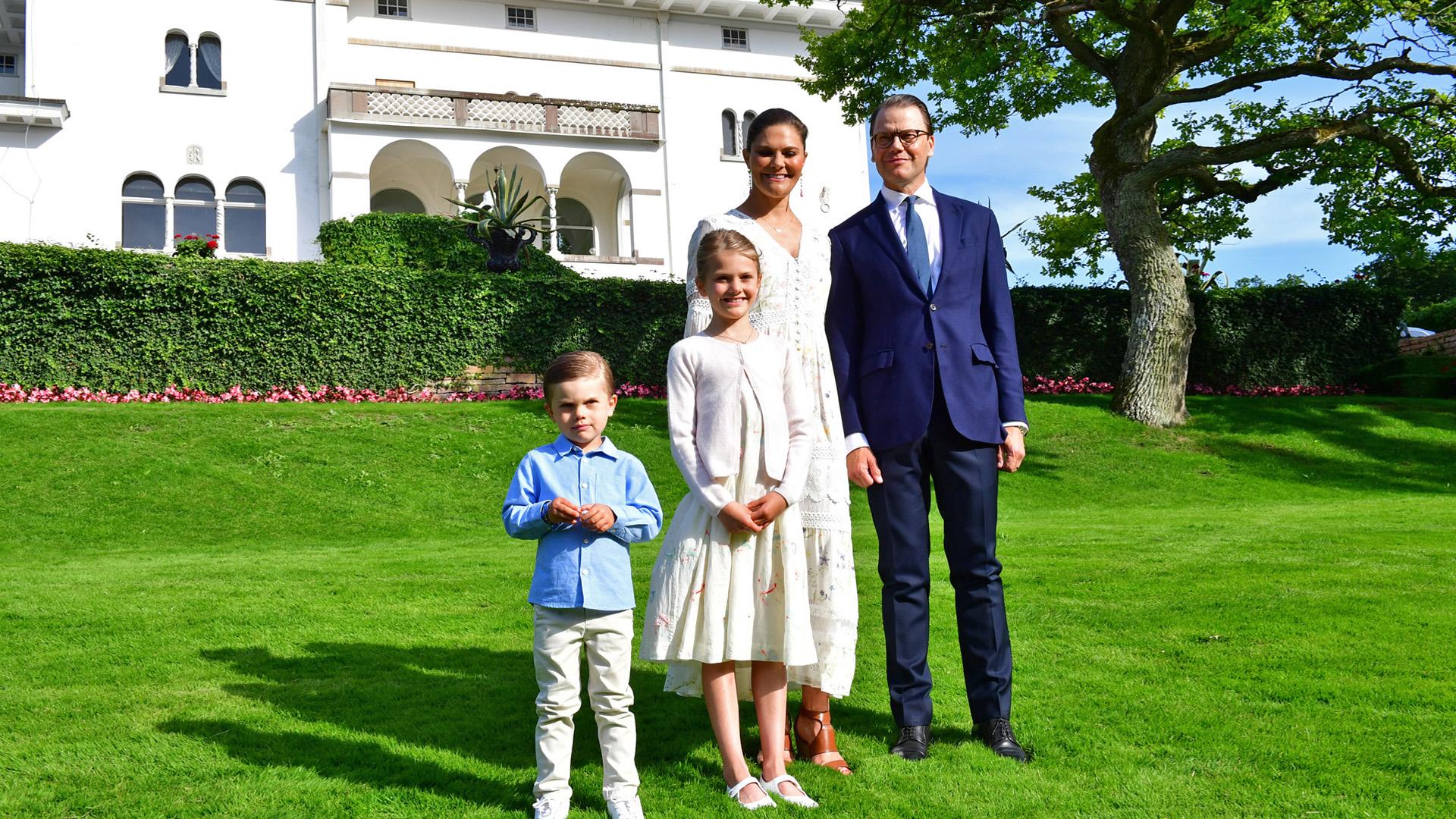 Viktória hercegnő a Haga palotában
