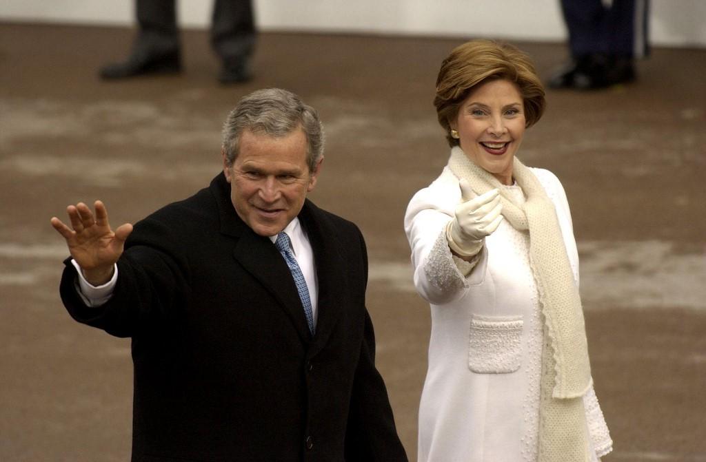 Laura Bush és George Bush