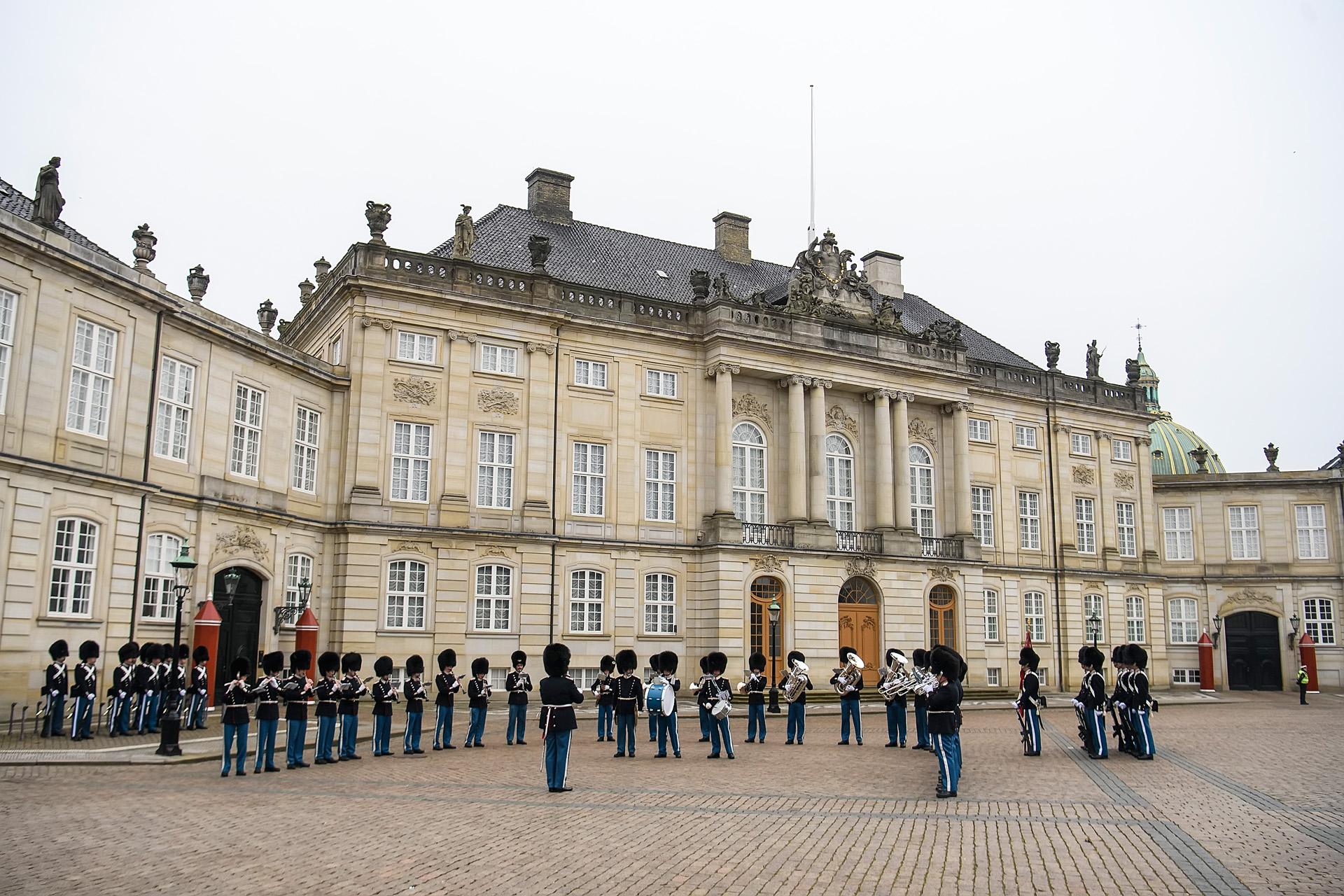A dán királyi család rezidenciája