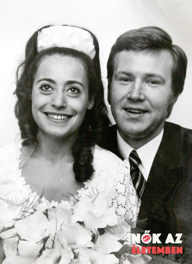 Gályvölgyi János feleségével Judittal