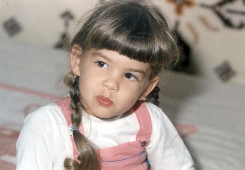 Ördög Nóra gyermekkori portréja