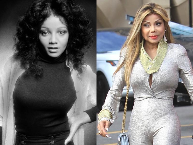 La Toya Jackson 1978-ban és napjainkban