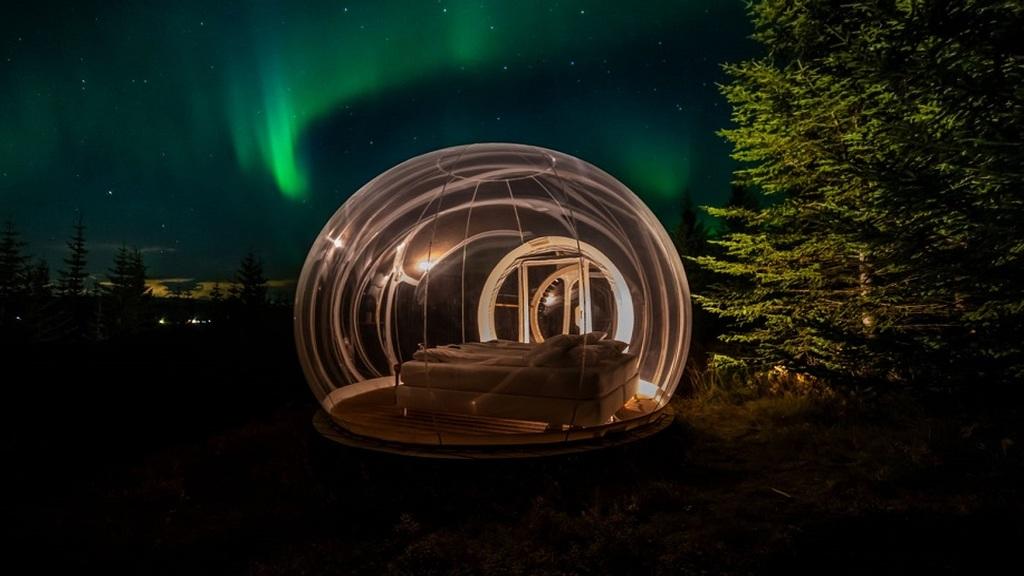 Buborékhotel Izlandon