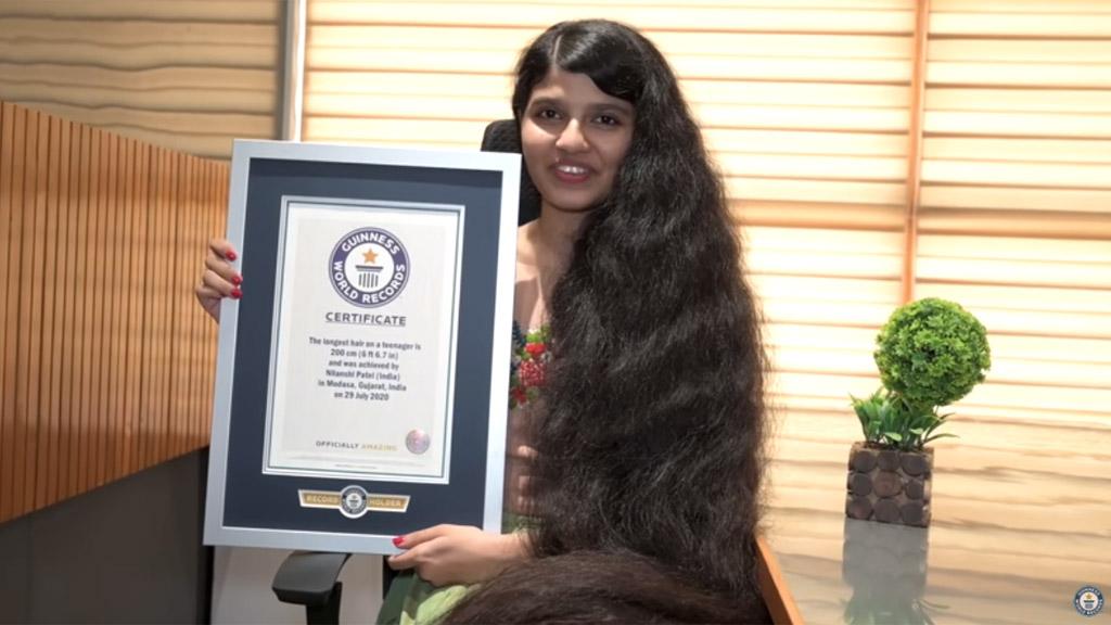 a világ leghosszabb hajú lánya