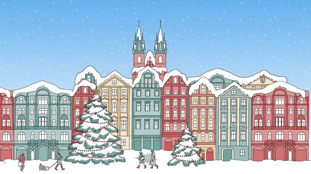 Advent 2020 karácsonyi házikók