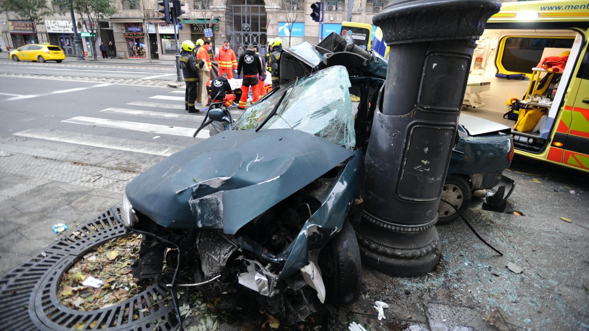 Halálos baleset a belvárosban: egy 17 éves fiú az áldozat