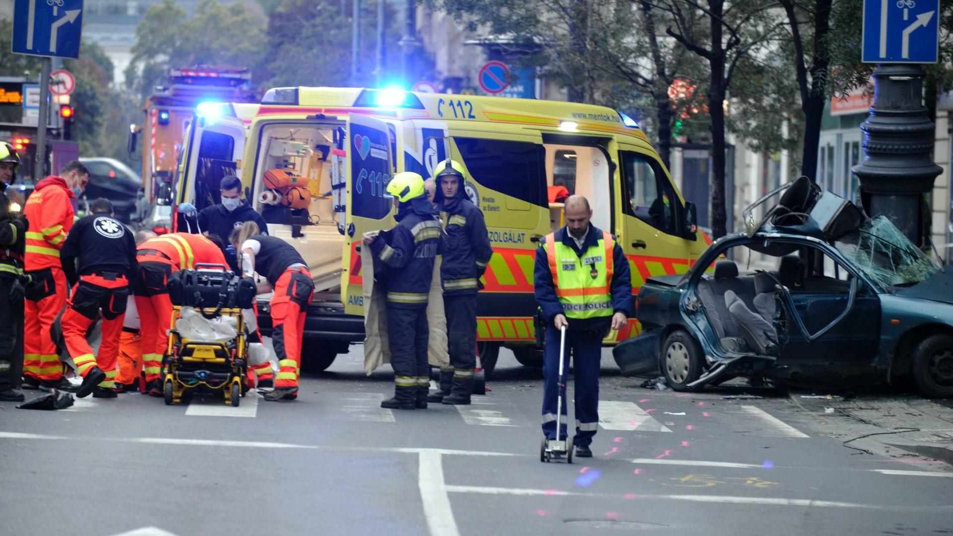 Károly körúti baleset
