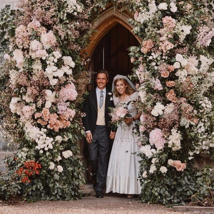Beatrix hercegnő és Edoardo Mapelli Mozzi
