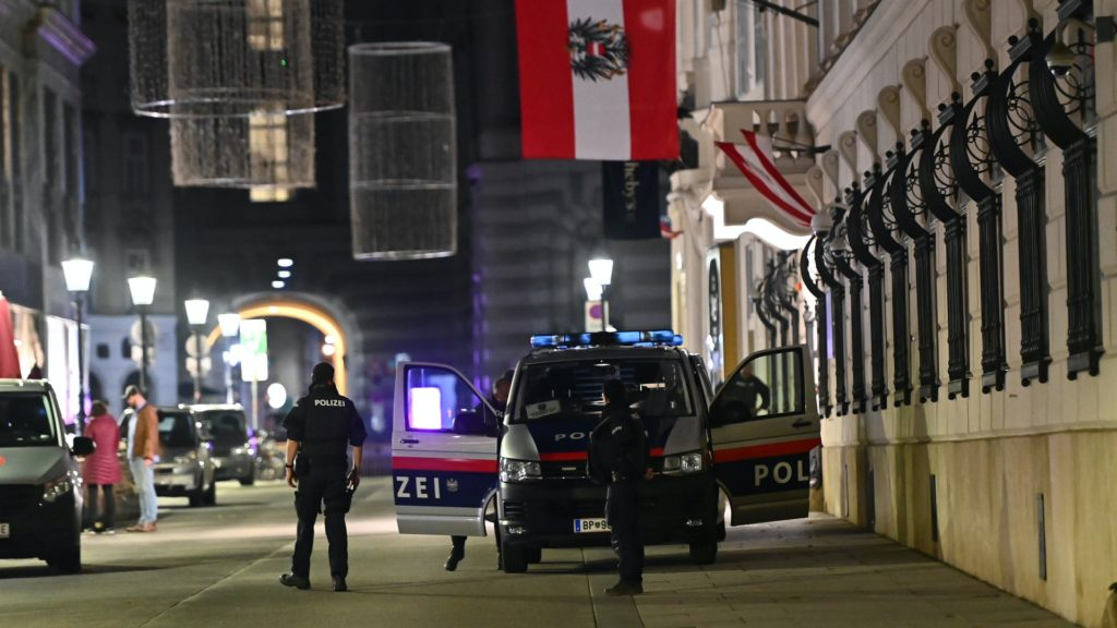 Terrortámadás Bécsben