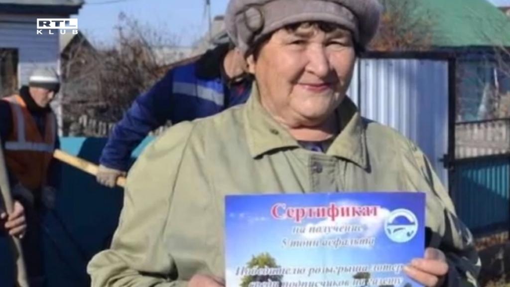 Az orosz nő bizarr főnyereménye