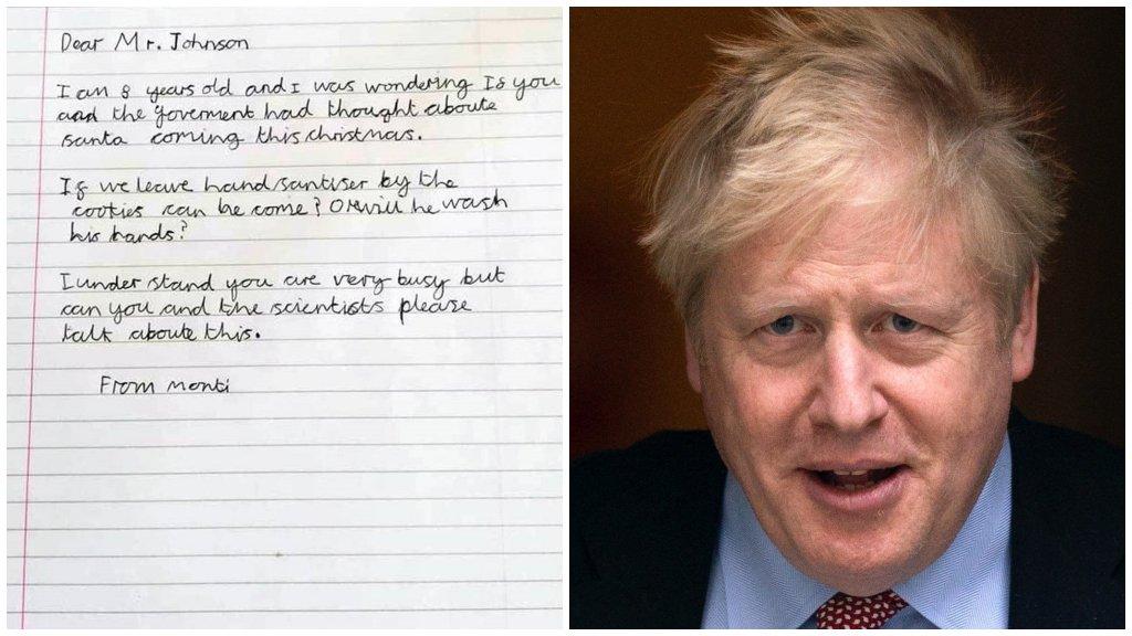 Boris Johnsont kérdezte a Mikulásról egy 8 éves kisfiú