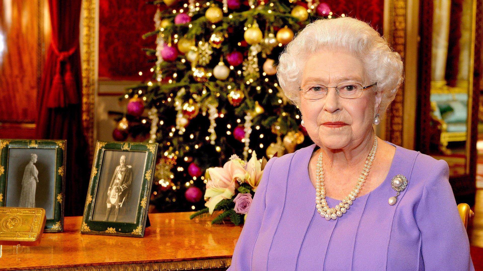 II. Erzsébet karácsonykor