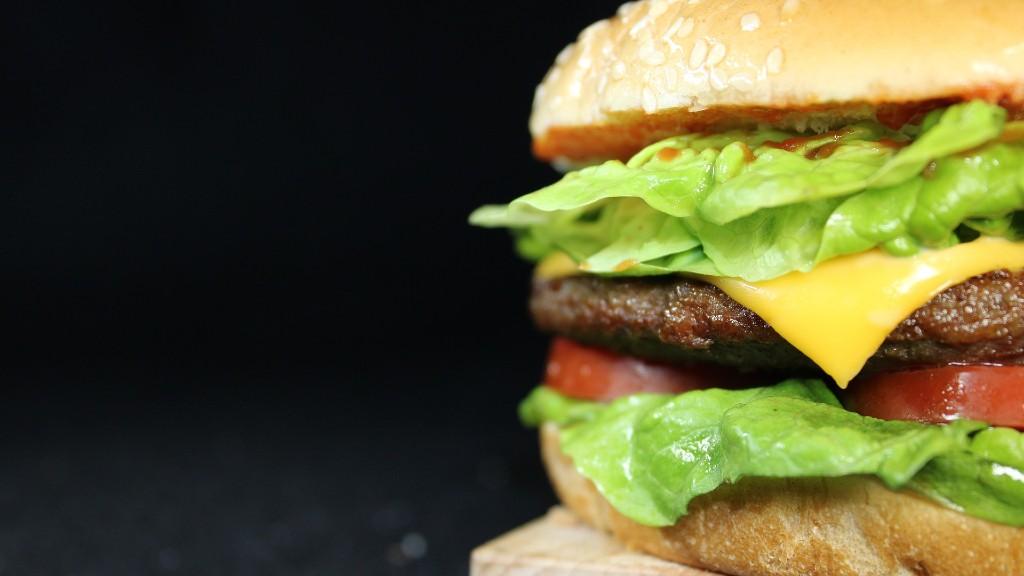 Hamburger, még igazi hússal (fotó: Pixabay)