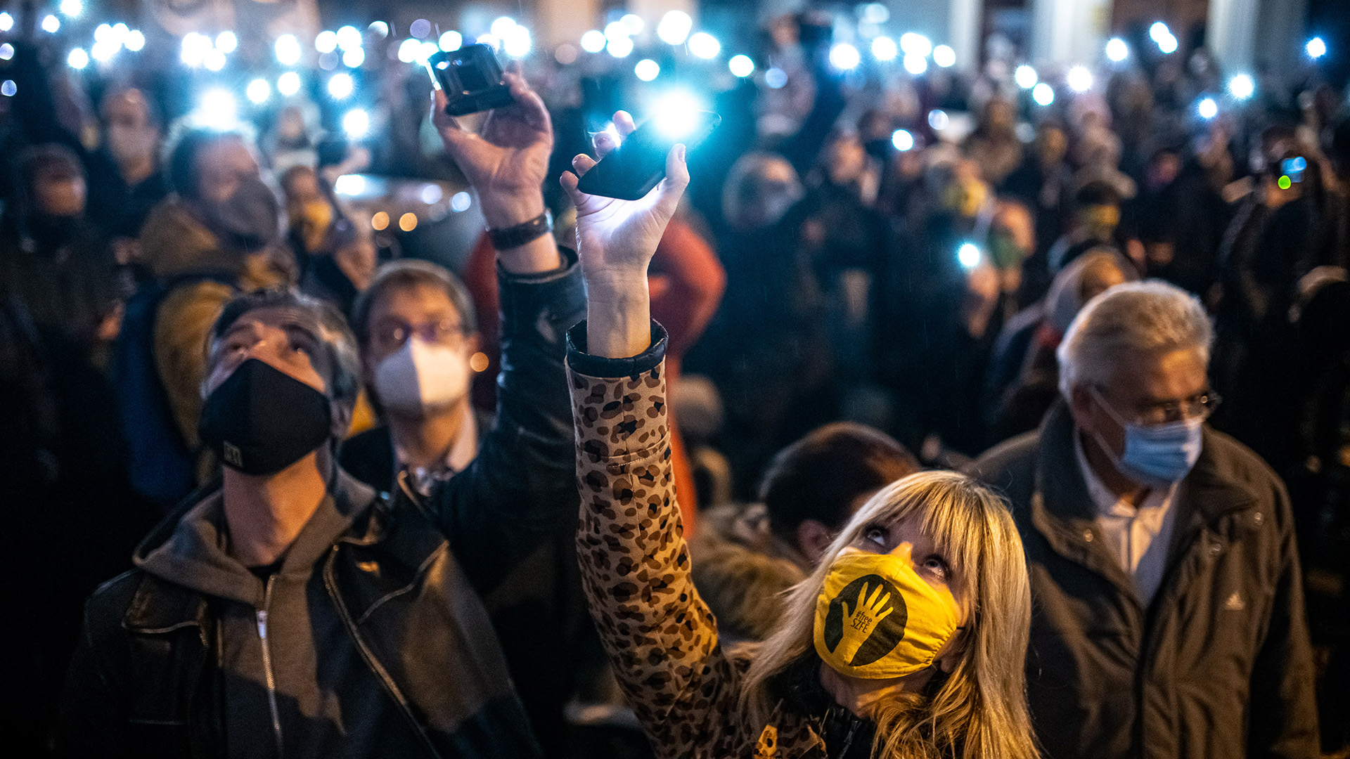 SZFE-tüntetés