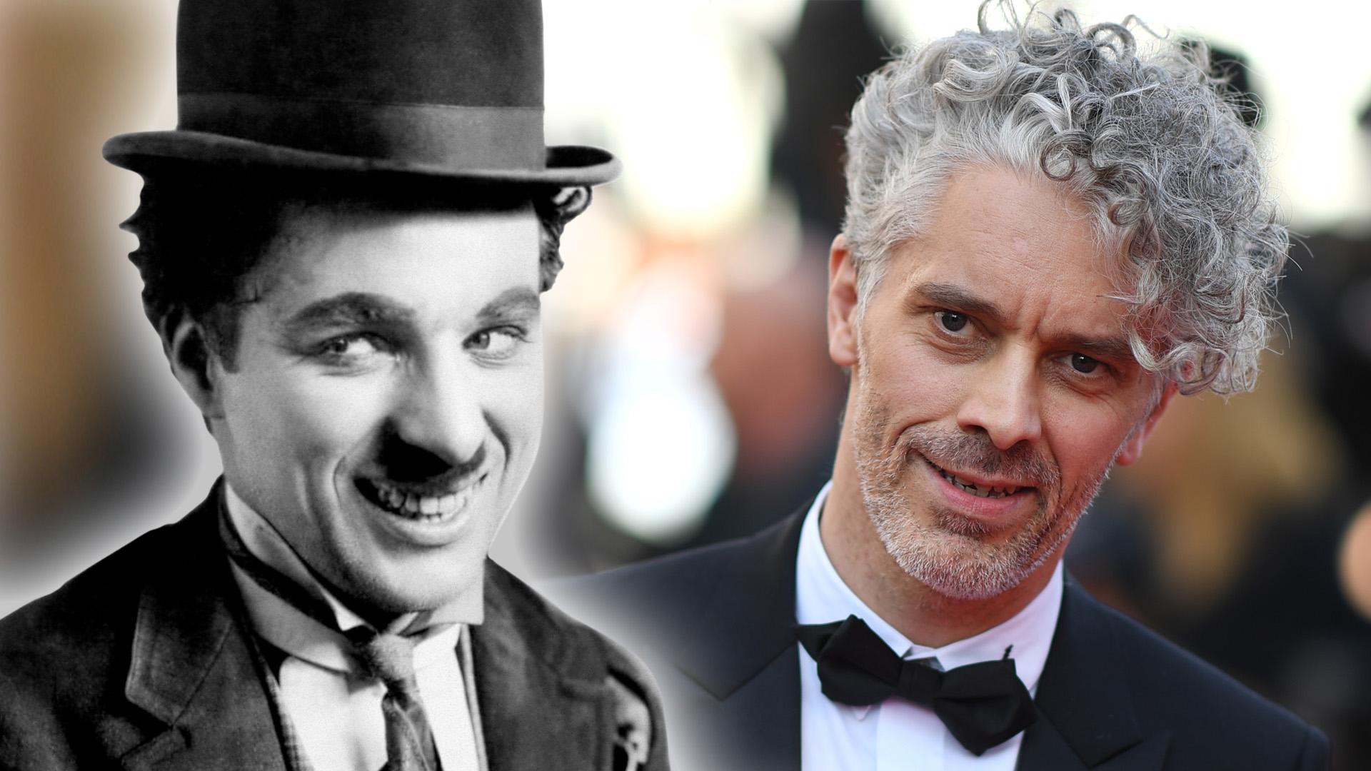 Elképesztően sármos pasi Chaplin unokája