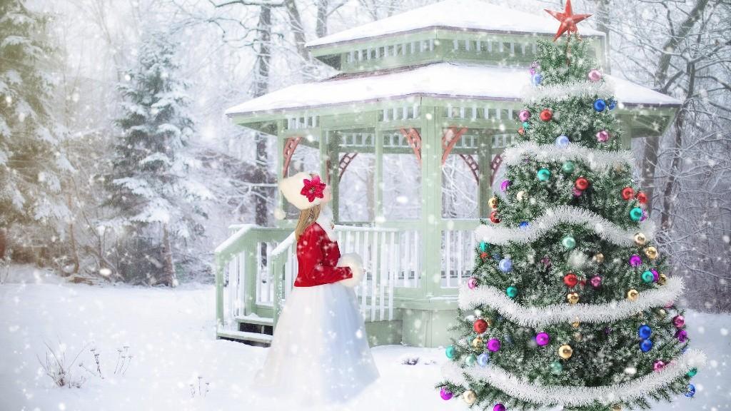 Egy igazi fehér karácsony (illusztráció: Pixabay)