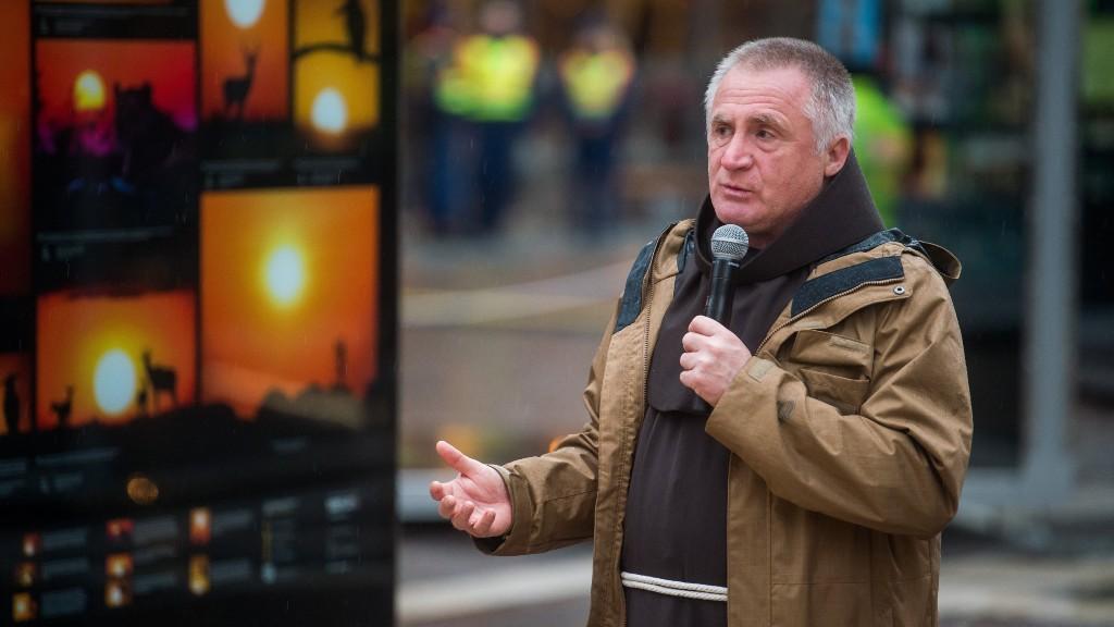 Böjte Csaba még egy tavaly tavaszi felvételen (fotó: MTI/Balogh Zoltán)