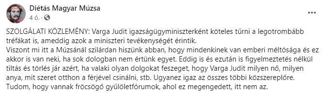 varga Judit és a szexizmus