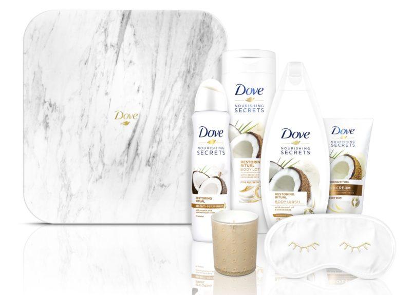 Dove Restoring Ritual Kényeztető Tükrös Szépségdoboz