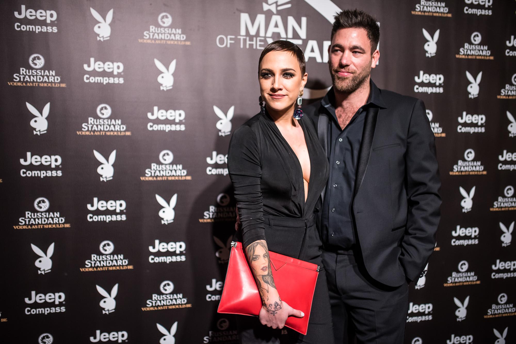 Tóth Gabi és Krausz Gábor a Playboy Man of the Year díjátadón (fotó: Neményi Márton)