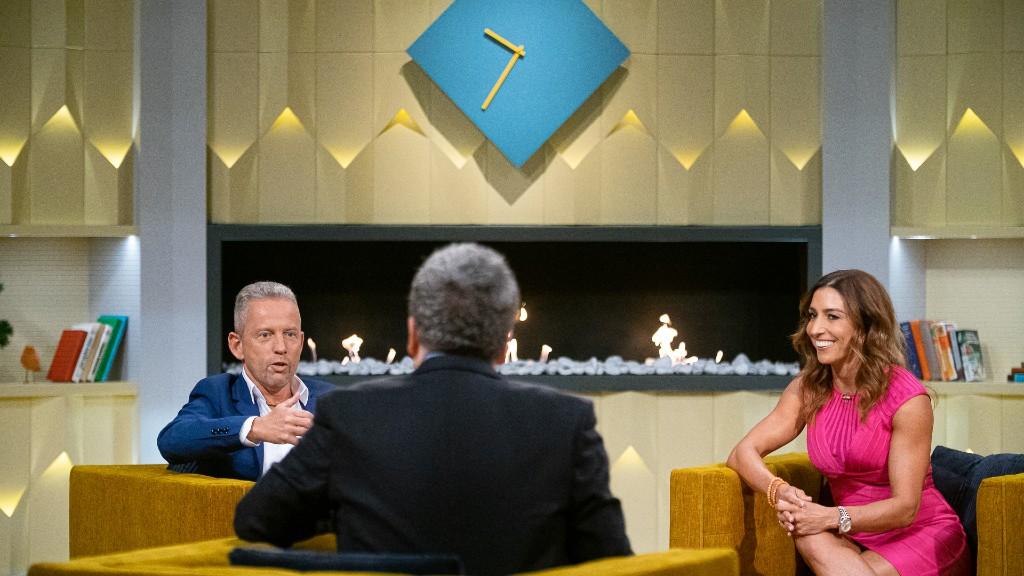 Friderikusz Sándor és vendégei (fotó: RTL Magyarország/Bielik István)