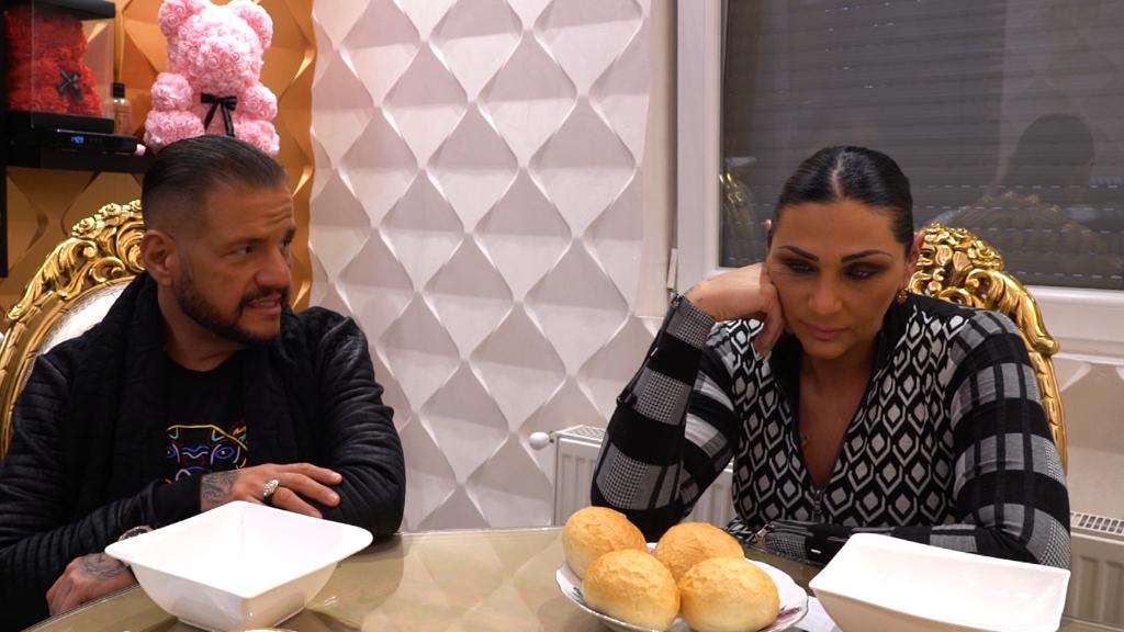 Tina és Emilio romantikus vacsora