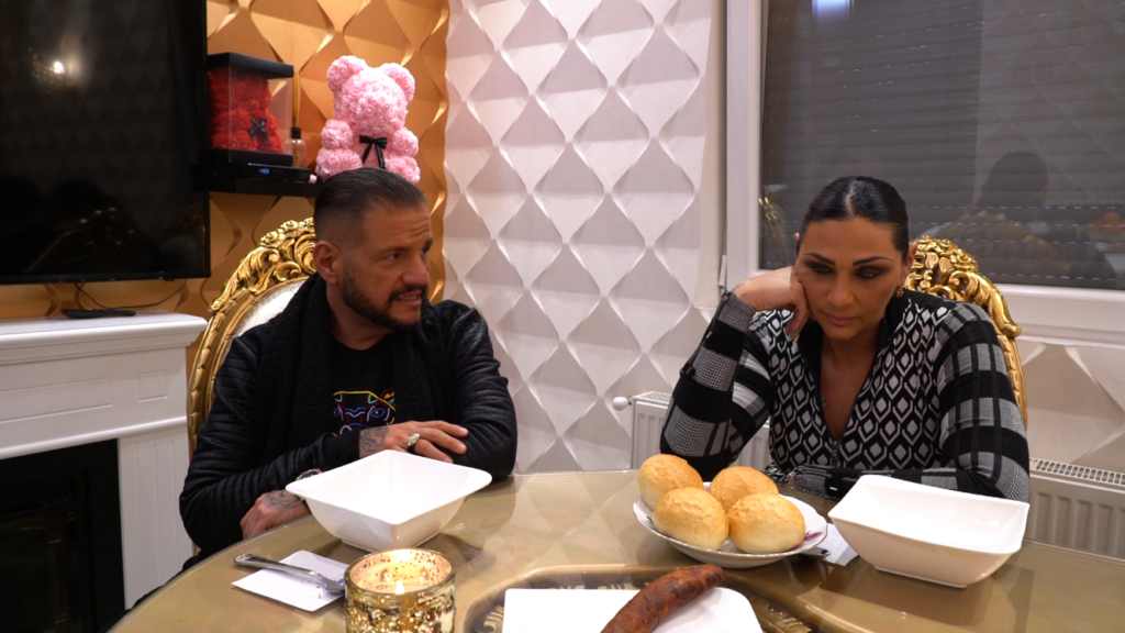 Emilio és Tina romantikus vacsorája nem úgy sült el, ahogy a zenész tervezte
