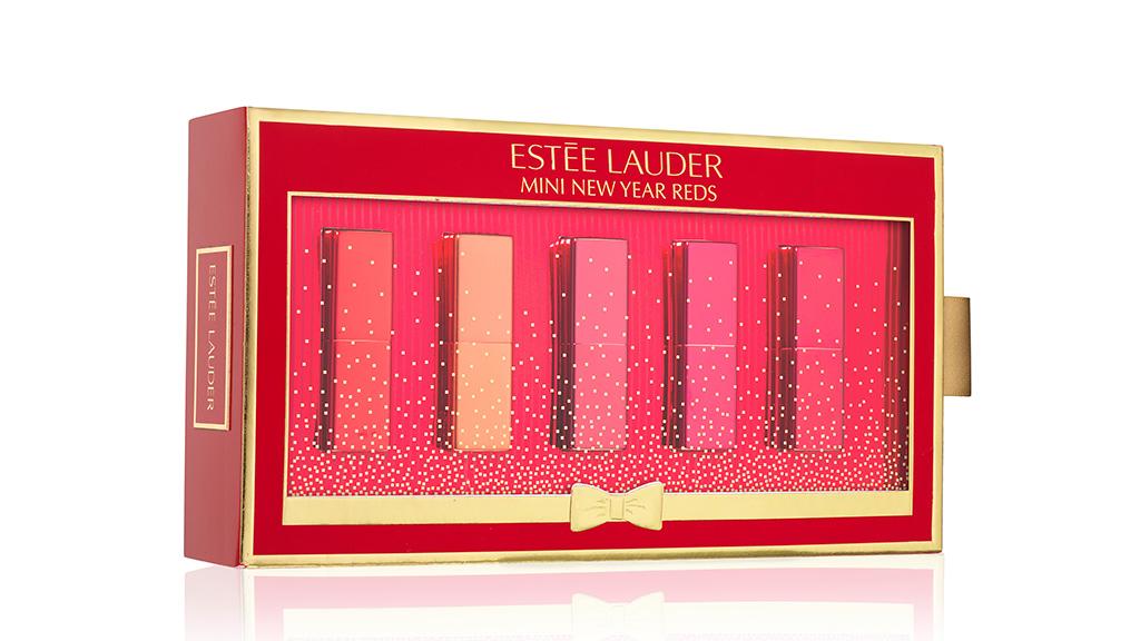 Estée Lauder Mini New Year Reds Rúzs Szett