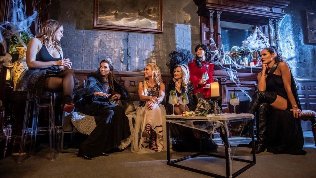 Ők a Feleségek luxuskivitelben új évadának szereplői (Fotó: Sony Pictures Press)