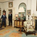 Károly herceg és Vilmos Sándor holland király