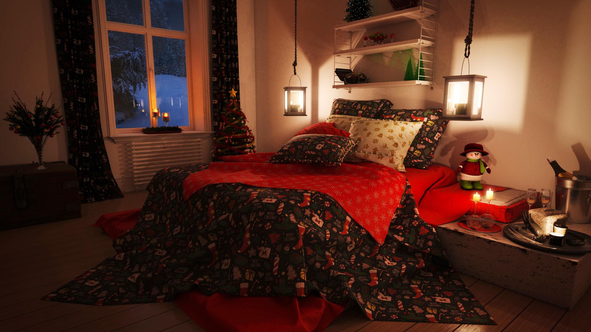 Karácsony az ágyban - Így dekoráld a kanapét és a fotelt az ünnepekre!