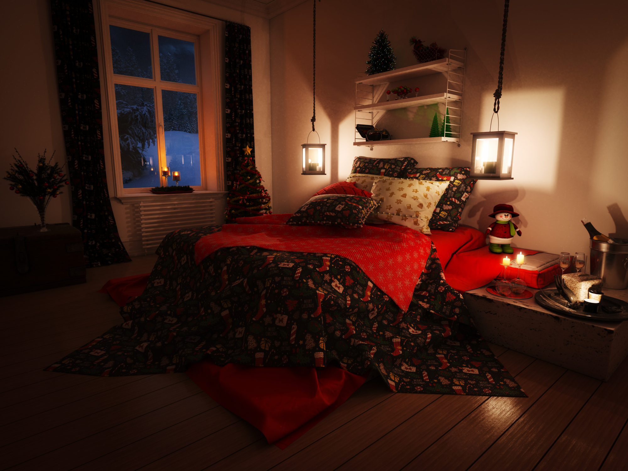 Karácsonyi ágynemű