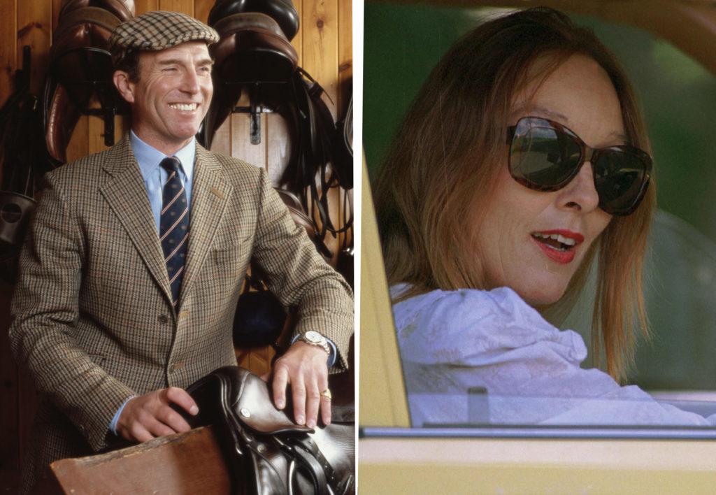 Mark Phillips kapitány és egykori szeretője Heather Tonkin (Fotó: Getty Images)