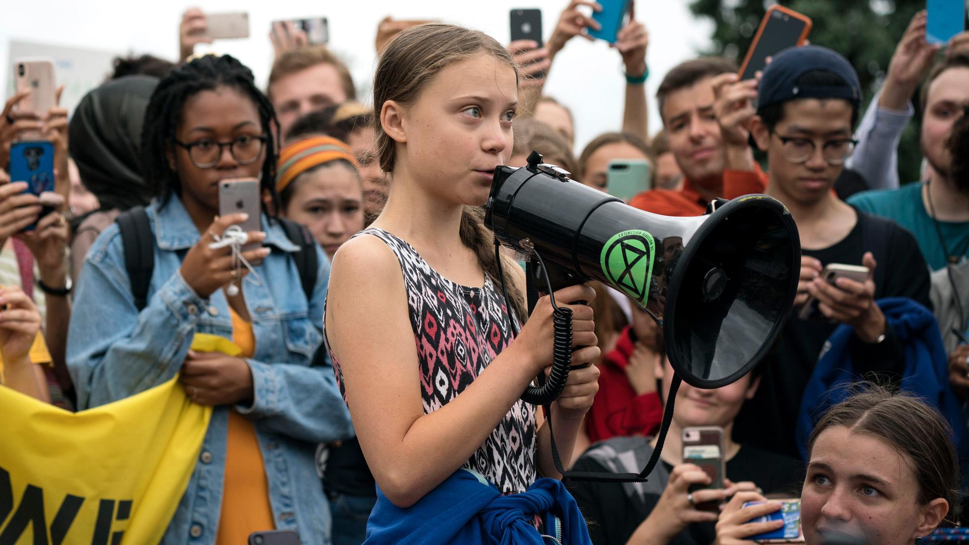 Greta Thunberg, ahogyan még sohasem láttuk