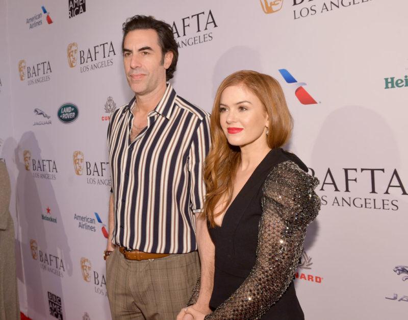 Sacha Baron Cohen és Isla Fisher