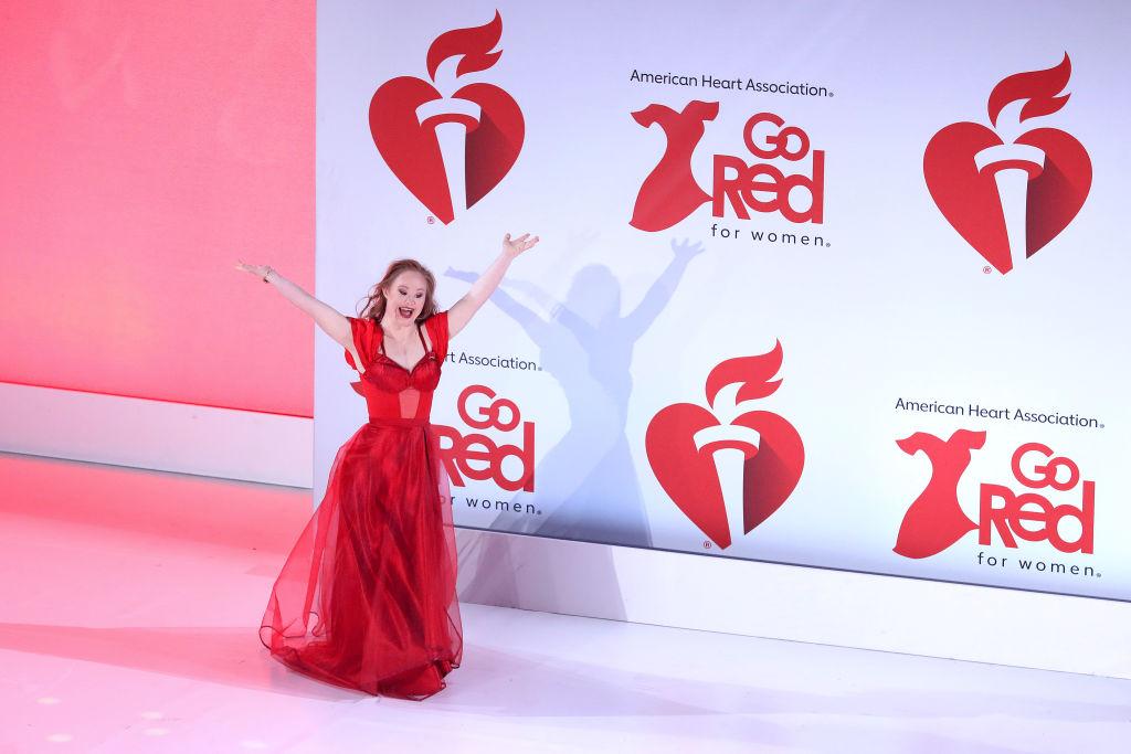 Madeline Stuart az American Heart Association rendezvényén 2020 februárjában.