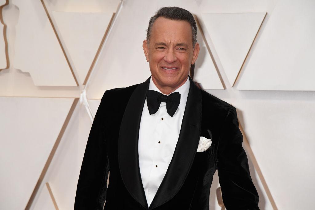 Tom Hanks a 92. Oscar gálán 2020 februárjában.