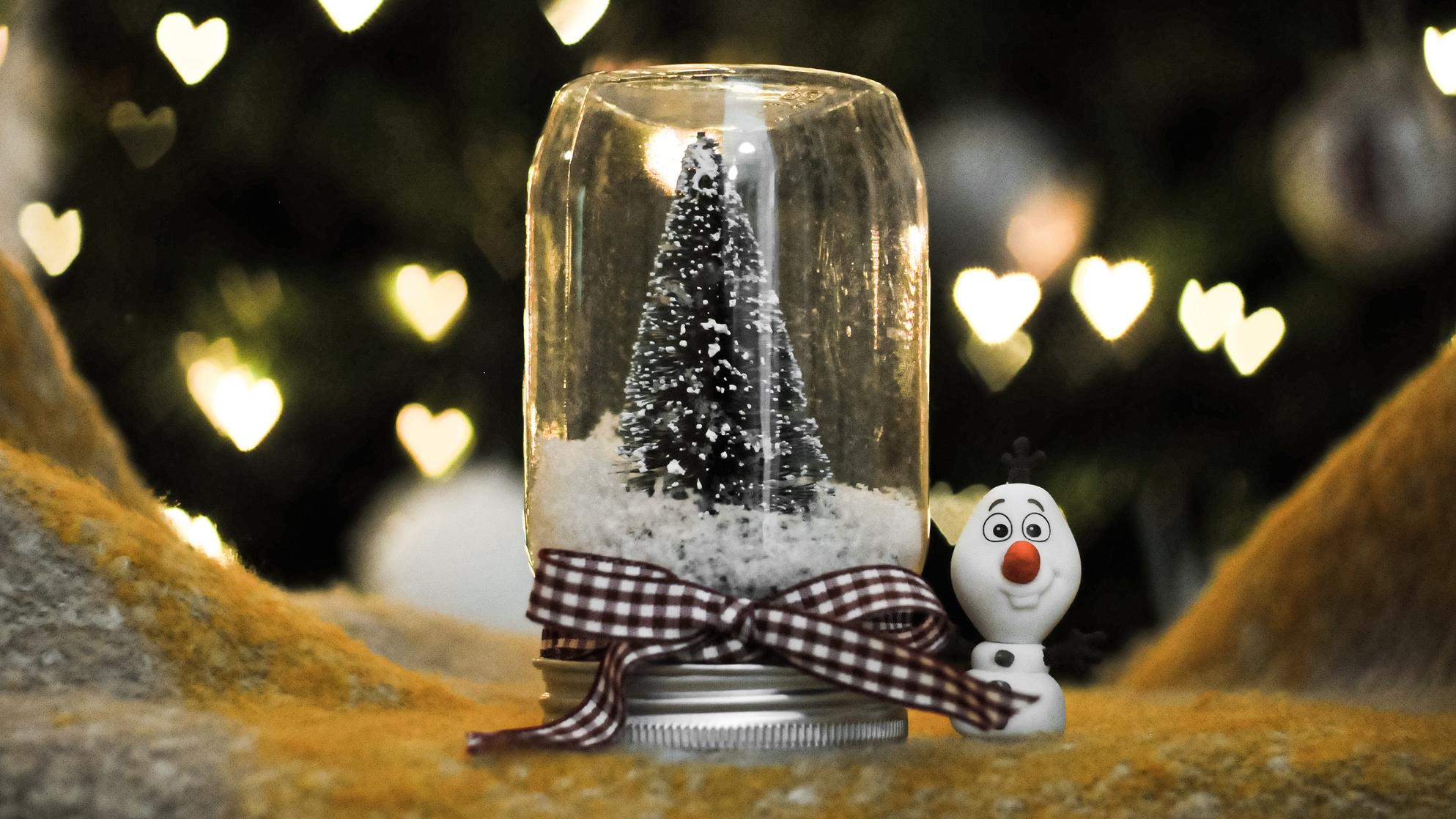 Karácsonyi üvegek