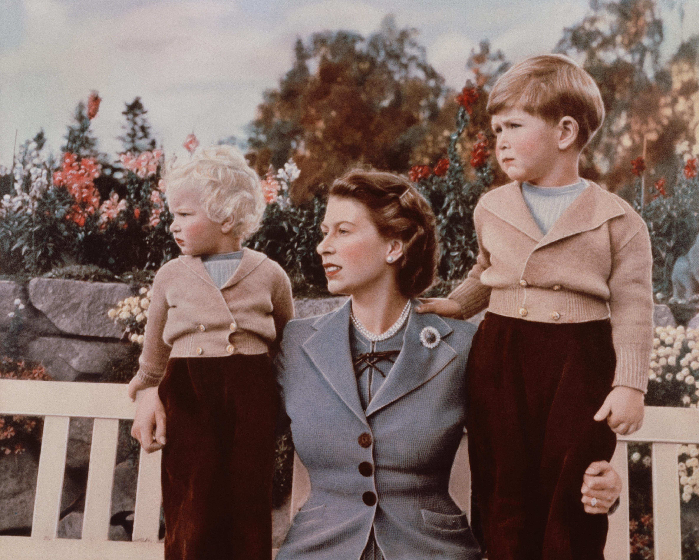 II. Erzsébet gyerekei
