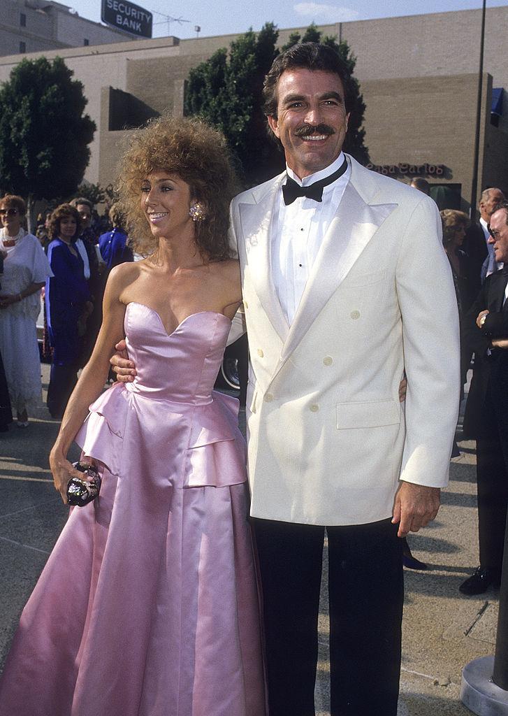 Tom Selleck és felesége, Jillie Mack