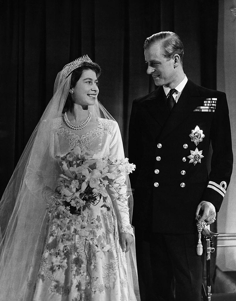 II. Erzsébet és Fülöp herceg esküvője