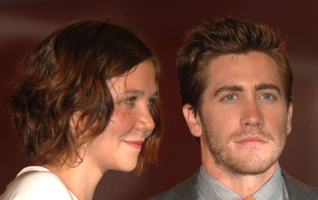 Jake és Maggie Gyllenhaal a Brokeback Mountain premierjén.