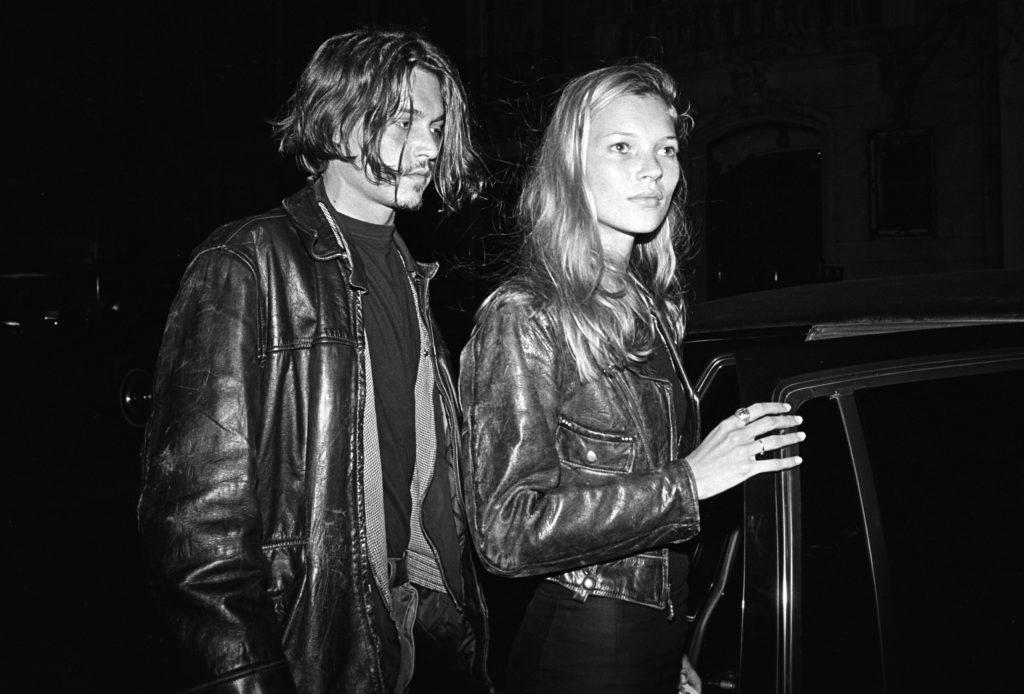 Johnny Depp és Kate Moss