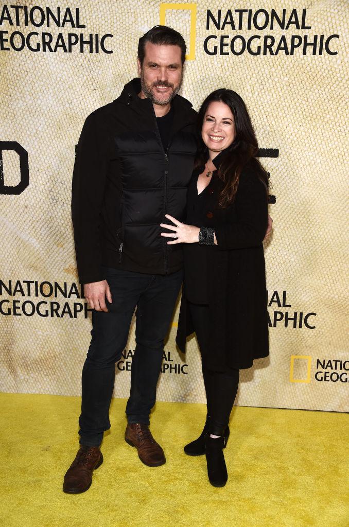 Holly Marie Combs 2017-ben férjével egy kaliforniai filmbemutatón