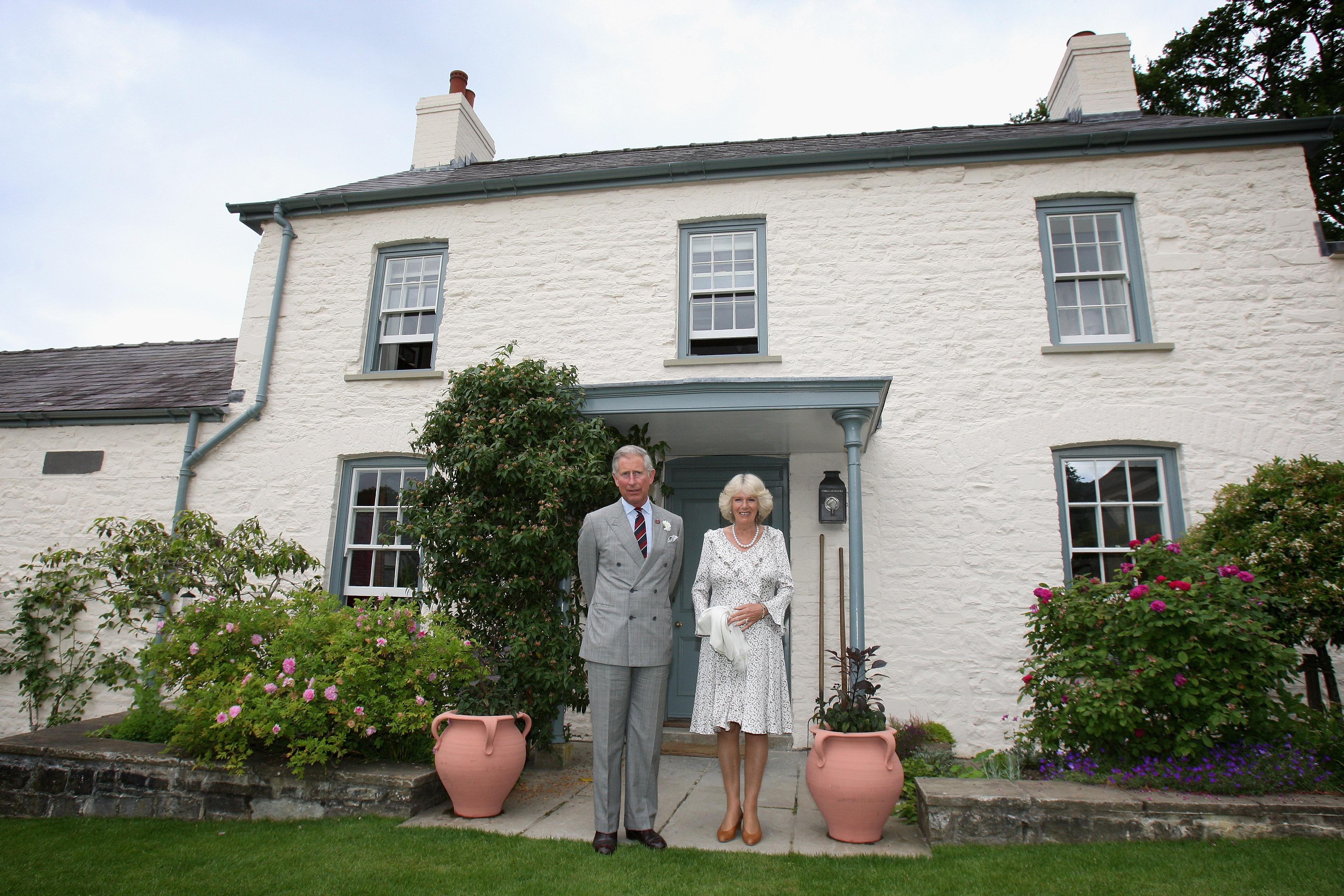Károly herceg háza Llwynywermodban