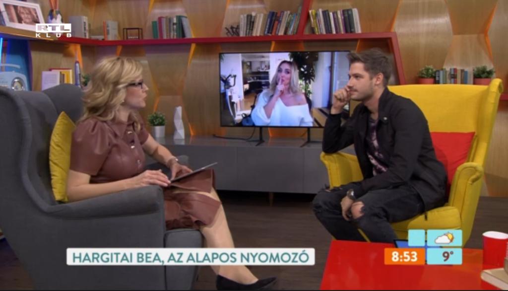 Hargitai Bea a Reggeliben beszélt az Álarcos énekesről