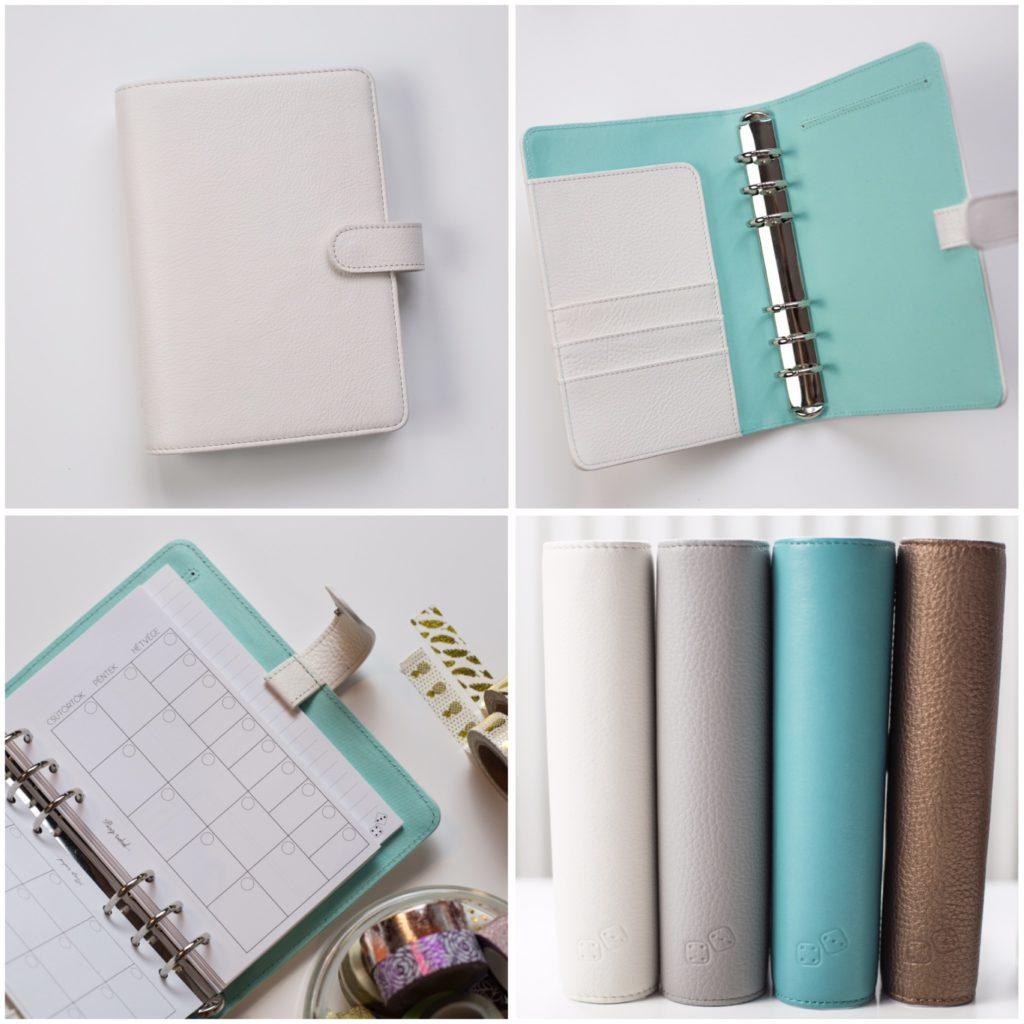 Paper Dice PLANNER – Fehér/Menta