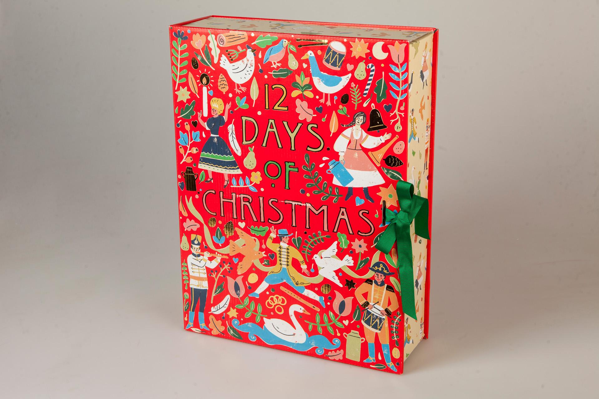 LUSH 12 Days Of Christmas adventi naptár